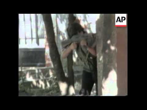 EL SALVADOR: FORMER REBELS LAY WREATH AT TOMB OF FARABUNDO MARTI