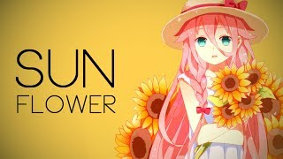 nightcore - sunflower (sierra burgess) // lyrics