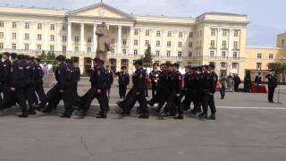 Парад на строевом смотре в Смоленске(, 2014-05-08T09:15:12.000Z)