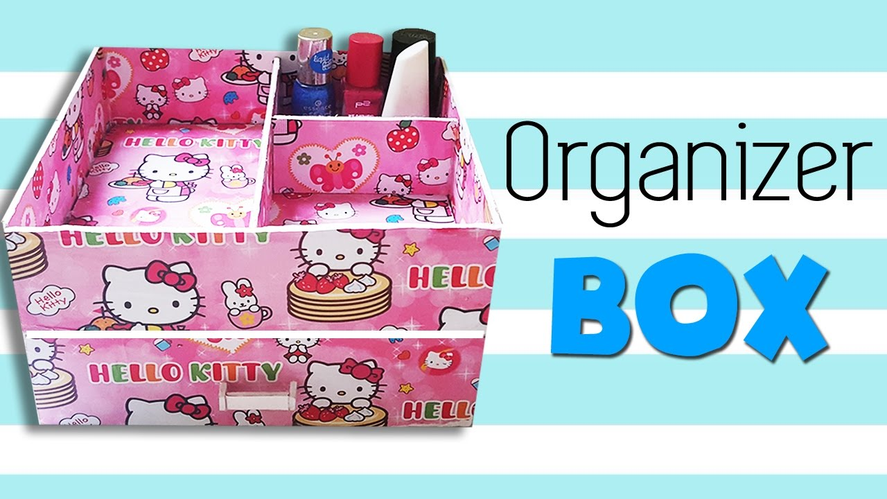 Diy Makeup Storage And Organization O Kitty Jewelry Organizers Box You