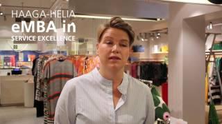 Lotta Prinssi, Haaga-Helia eMBA student