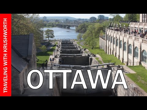 Tour Ottawa Ontario (things to do) travel video guide; Canada tourism attractions