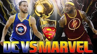 NBA2k18: SUPERHEROES VS VILLAINS! EASTERN MARVEL VS WESTERN DC
