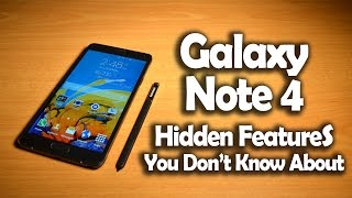 Galaxy Note 4 Hidden Gestures, Tips & Tricks You Don't Know About #1