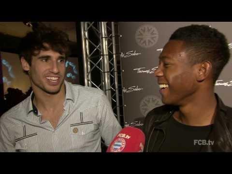 David Alaba und Javi Martinez freuen sich auf Arsenal