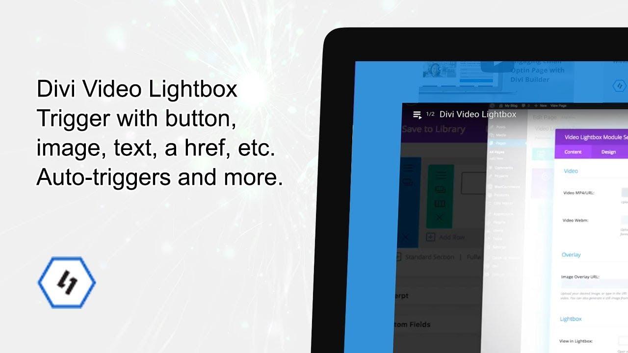Divi - Click Button to Open Video in Lightbox