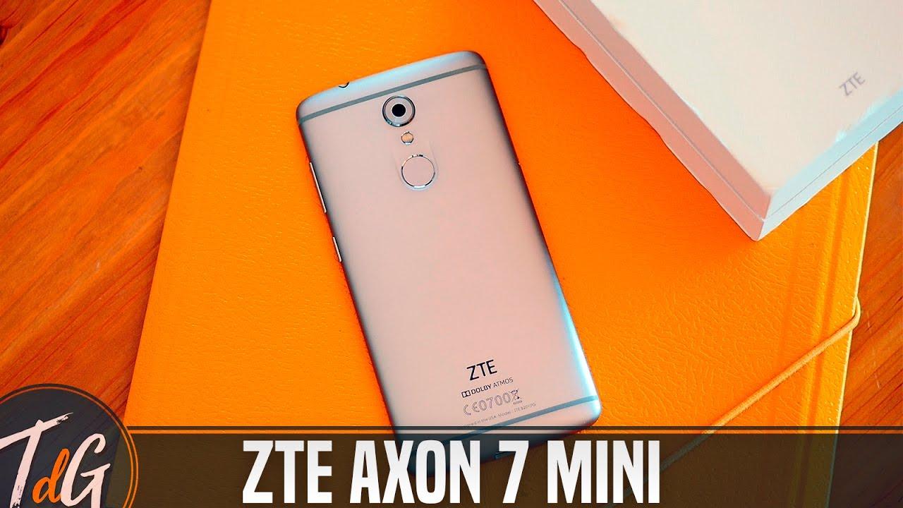 ZTE Axon 7 Mini, review en español