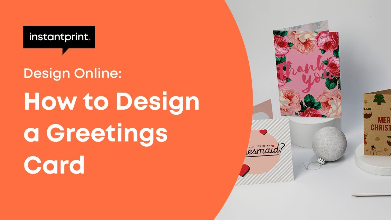 How To Design A Greetings Card Online