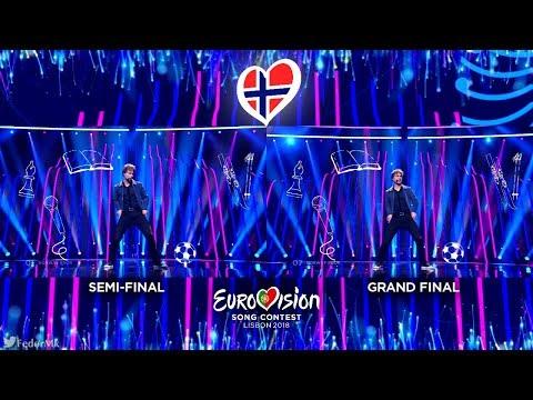 Alexander Rybak - That's How You Write A Song | Semi-Final Vs Grand Final (Norway - Eurovision 2018)