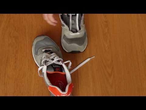 Как завязать шнурки на кроссовках нью баланс