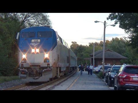 Amtrak Lincoln Service and Texas Eagle - Alton, IL - 10/9/2016