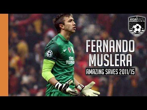 Fernando Muslera |Amazing Saves| HD | 2011-2015