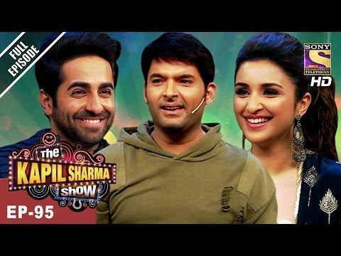 The Kapil Sharma Show - दी कपिल शर्मा शो-Ep - 95 - Parineeti Chopra & Ayushmann In Kapil's Show