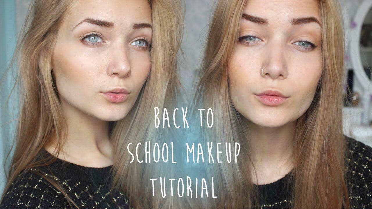 Drugstore back to school makeup tutorial youtube drugstore back to school makeup tutorial baditri Gallery
