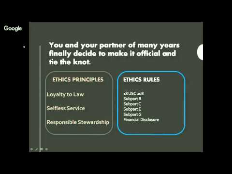 Tools for Annual Ethics Training, Ten Scenarios for a General Audience