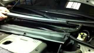 BMW 3 E46. Замена салонного фильтра. How to Cabin Air Filter Replacement