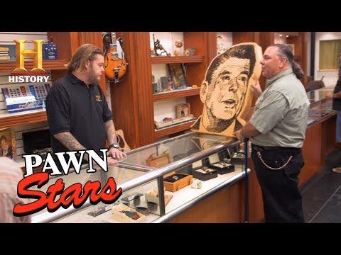 Pawn Stars: Ronald Reagan Foam Head Season 14  History