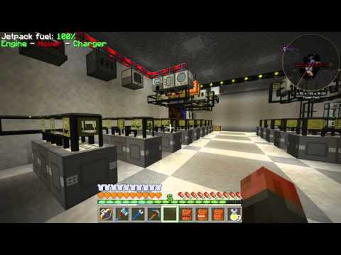 FTB Infinity Evolved Expert E37 - Nuclear Control, Automatic Fuel Rods