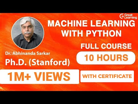 Machine Learning with Python | Machine Learning Tutorial for Beginners | Machine Learning Tutorial