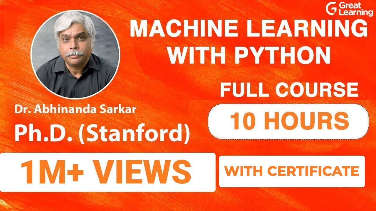 Machine Learning with Python   Full Course for Beginners