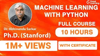 Machine Learning with Python   Machine Learning Tutorial for Beginners   Machine Learning Tutorial