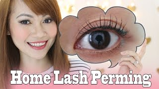 Video Permanently Curled Lashes At Home download MP3, 3GP, MP4, WEBM, AVI, FLV November 2017