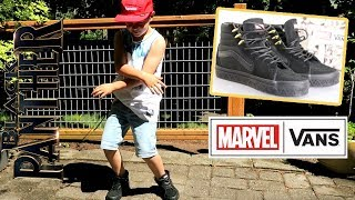 Vans Marvel BLACK PANTHER Sk8-Hi Shoe Review & On Foot