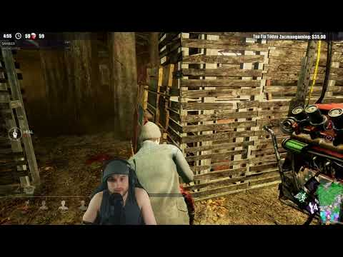 Dead by Daylight RANK RESET SURVIVOR! - DID SHE SEE MI?