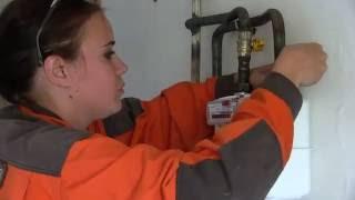 видео Установка газовых счётчиков