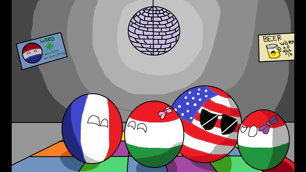 History Of Hungary In Countryballs Youtube