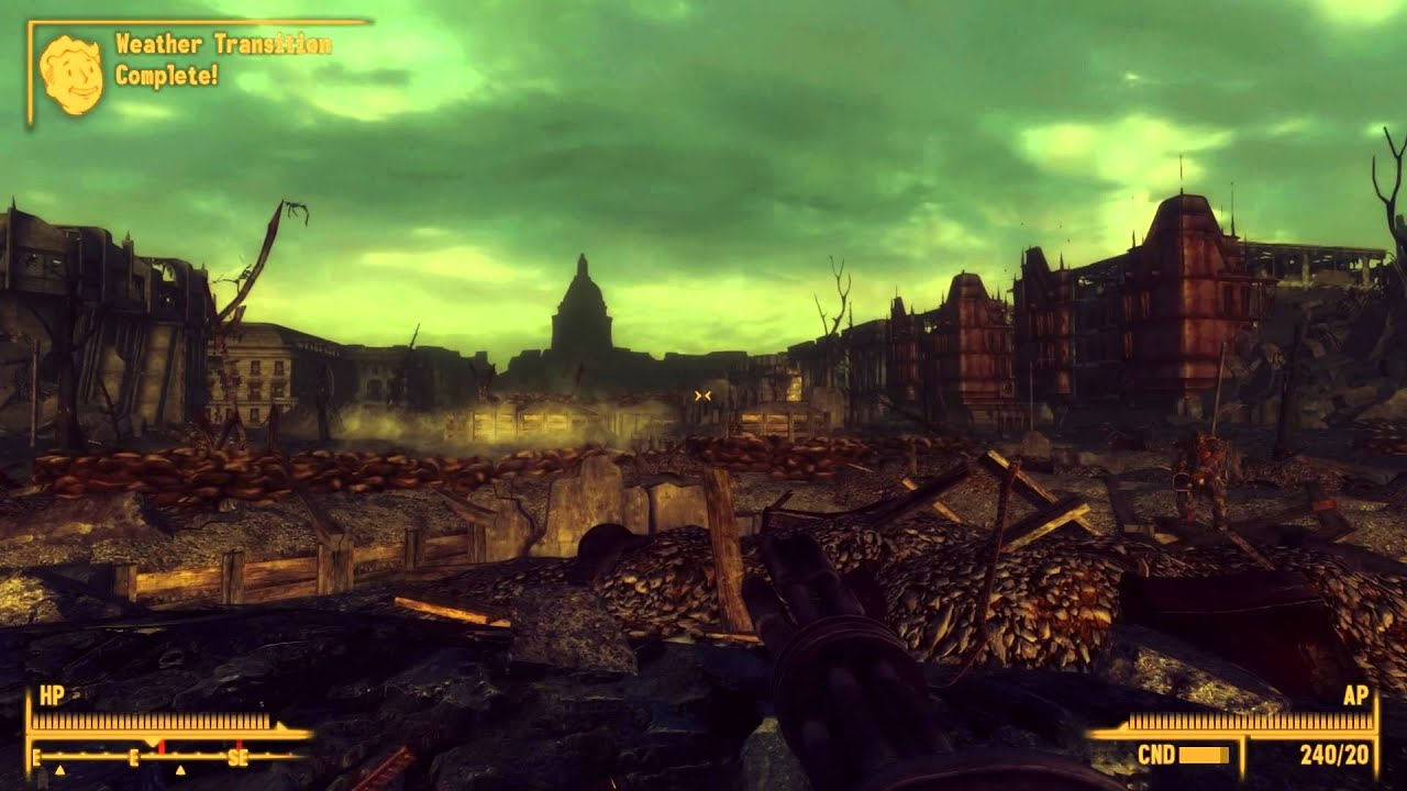Fallout 3 Enb Showcase With Extreme Graphics Enb Series 1 56 Midhrastic Enb Mod Pc 1080p Hd Youtube