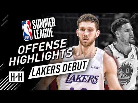 Svi Mykhailiuk Full Offense Highlights at 2018 NBA Summer League - LA Lakers Debut!