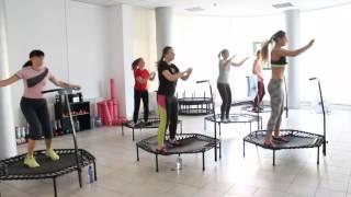 Jumping Fitness/Sky Jumping/фитнес на батуте в студии JT-FIT/инструктор Evgenia Misnik