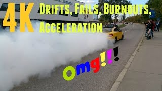 1.Cars & Coffee at Motorworld in Böblingen (Germany) - drifts, fails, burnouts,...[4K]