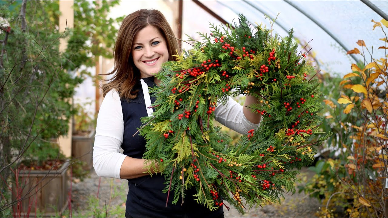 Non Christmas Winter Wreaths.How To Make A Winter Wreath