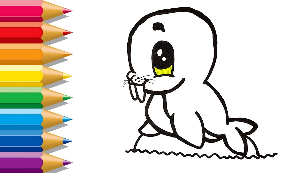Best How To Draw A Walrus Step By Step Easy - hd wallpaper