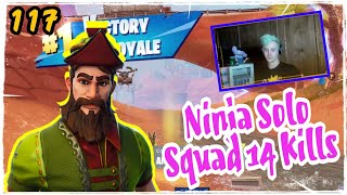 Ninja New Hacivat Skin Fortnite Game Play Solo Squad Season 5