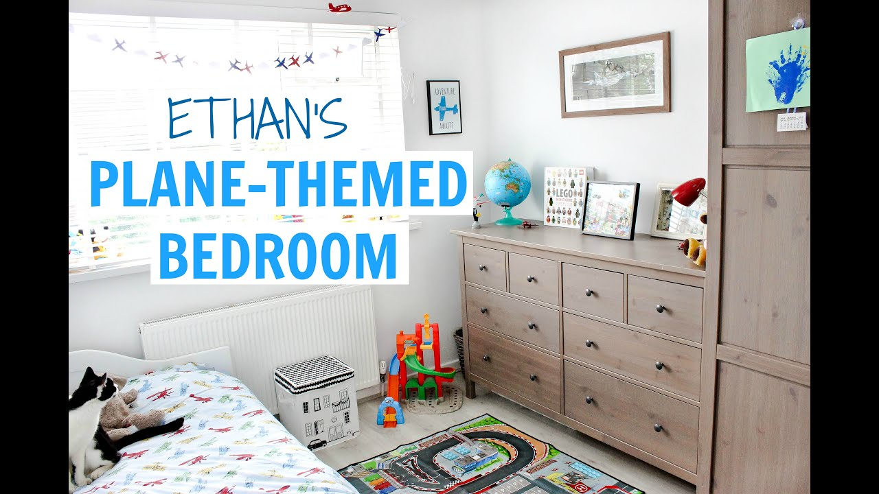 Exceptionnel 3 YEAR OLDu0027S PLANE THEMED BEDROOM   ETHANu0027S ROOM TOUR | Alex Gladwin