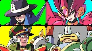 Mega Man X Command Mission - All Bosses (No Damage)