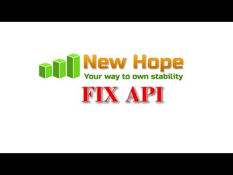 New Hope FIX API - New Hope