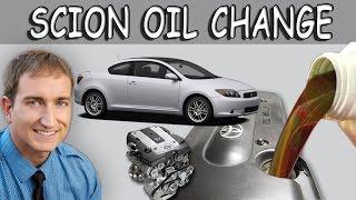 How to Change Oil Toyota Scion TC