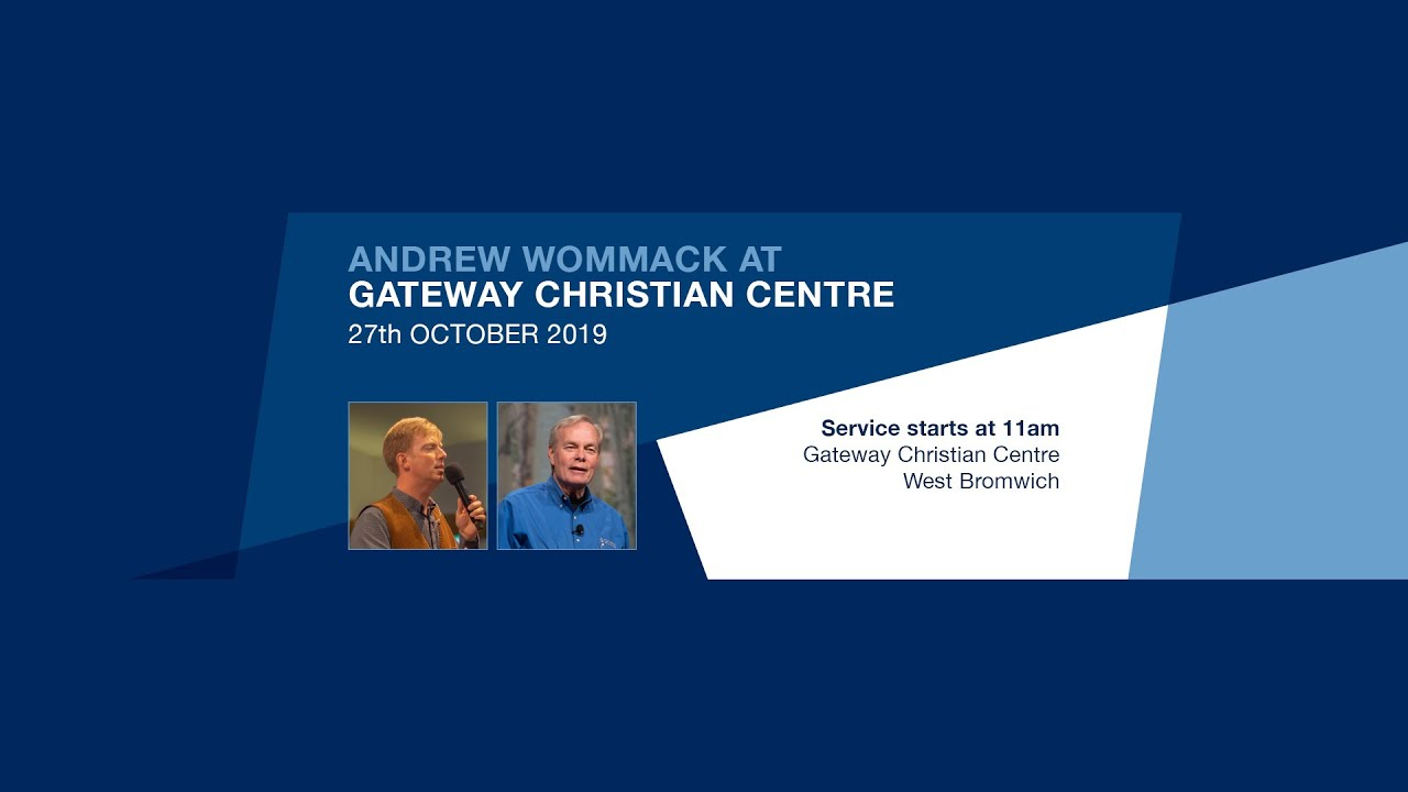 Andrew Wommack Beliefs andrew wommack at gateway christian centre 27th october 2019 - birmingham uk