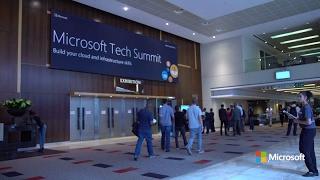 Microsoft Tech Summit South Africa- Day 1