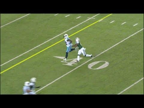 Buster Skrine Almost Picks Off Marcus Mariota |Jets vs Titans|