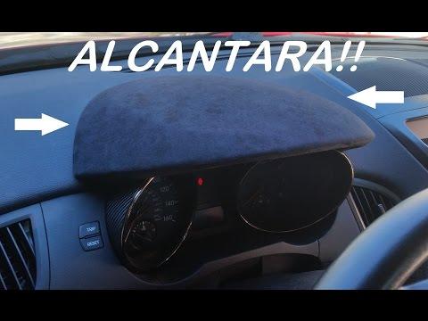 Genesis Coupe Alcantara Interior Trim Install: Gauge Bezel Wrap