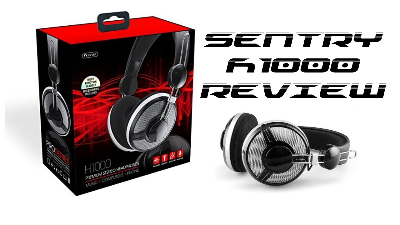 Sentry H1000 headphones - Unboxing   Review - YouTube b3d89a17e6