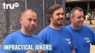 Impractical Jokers - Sal Delivers a Baby Cow (Punishment) | truTV