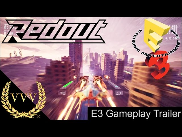Redout E3 Gameplay Trailer