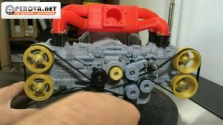 Двигатель SUBARU на 3D принтере. Perova.net(, 2016-07-23T07:36:46.000Z)