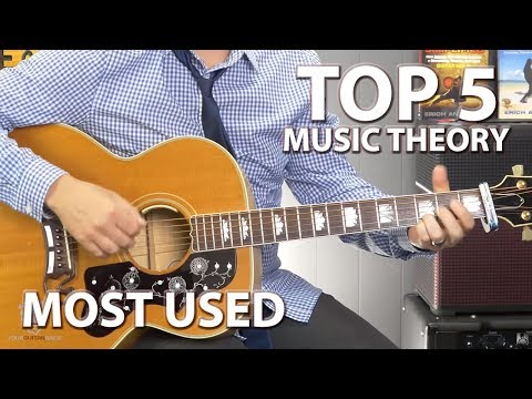 Top 5 Music Theory Tips For Guitar Players